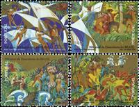 Portugal - Opdagelsen af Brasilien - Postfrisk sæt 4v