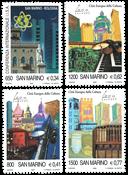 Saint-Marin - Capitale de la culture - Série neuve 4v