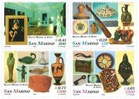 Saint Marin - Musée de l'Etat - Série neuve 4v