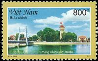 Vietnam - Binh Thuan - Postfrisk frimærke
