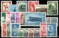 Belgique - Année complète 1954, neuf