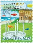San Marino - Milano Maritima - Postfrisk frimærke