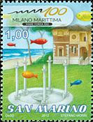 Saint Marin - Milan Maritima - Timbre neuf