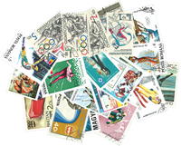 Winter Olympics - 25 different stamps