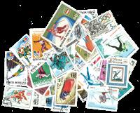 Olympische Winterspelen 50 zegels