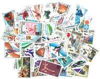 100张有关冬季奥运会的邮票