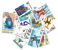 Winter sport - 25 different stamps