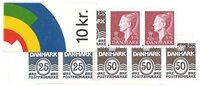 Danemark - Carnet de timbres neuf - 1998