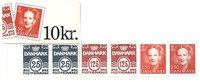 Danemark - Carnet de timbres neuf - 1991