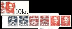 Danmark 1991 - Frimærkehæfte - Postfrisk
