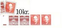 Danmark frimærkehæfte - 1992 - Postfrisk