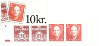 Denmark - stamp booklet 1992 - Mint