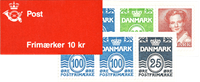 Denmark - Stamp booklet 1990 - Mint