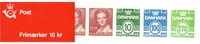 Denmark - Stamp booklet 1988 - Mint
