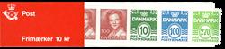Danmark 1988 - Frimærkehæfte - Postfrisk