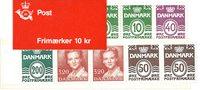 Danemark - Carnet de timbres neuf - 1989