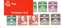 Denmark - Stamp booklet 1989 - Mint