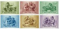 Hongrie - AFA 1339-44 neufs