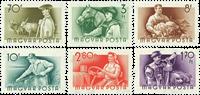 Hongrie - Timbres neufs - AFA 1411-16