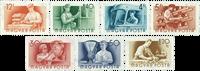 Hongrie - Timbres neufs - AFA 1421-27