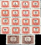 Unkari - AFA p230-47 postituoreena