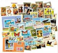 Centralafrika 1960-79 - 270 frimærker + 46 miniark