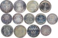 Sverige sølvmønter 13 stk