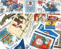 25张有关国旗和徽章的邮票