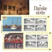 Danemark - Châteaux danois - Carnet neuf