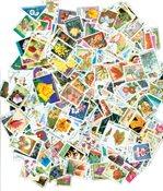 250张不同有关花类的邮票