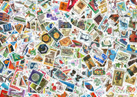 Bulgaria 500 different stamps