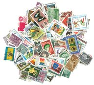 200 francobolli di 200 paesi