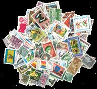 200枚不同,世界200个国家的邮票