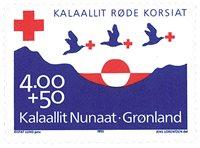 Grønland - Røde Kors - Postfrisk