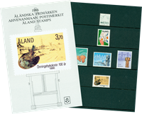 Åland 1986 Collection annuelle