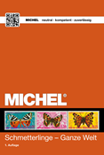 Michel catalog - Butterflies 2015
