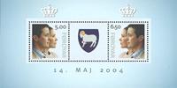 Kongeligt Bryllup - Miniark - Postfrisk - Postfrisk sæt