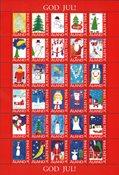 Åland Vignette Noël 1994 - Vignettes De Noèl