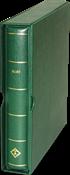 Grønt Perfektbind - DP - Præget med ISLAND - m/kassette