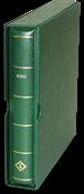 Grønt Perfektbind - DP - Præget med SVERIGE - m/kassette