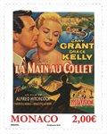 Monaco - *La main au collet* avec Grace Kelly - Timbre neuf