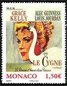 Monaco - Filmen Svanen med Grace Kelly - Postfrisk frimærke