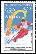 Andorre francais -Jeux de Nagano