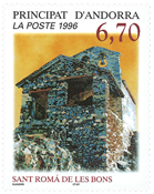 Fransk Andorra 1996 - Saint Roma Les Bons