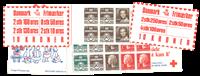 Danemark - Carnets de timbres - 4 différents