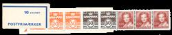 Danmark 1984 - Frimærkehæfte - Postfrisk