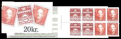 Danmark 1992 - Frimærkehæfte - AFA 7