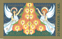 Danmark - Julemærkehæfte 2001