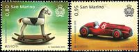 Saint-Marin - Europa Cept - anciens jouets - Série neuve 2v