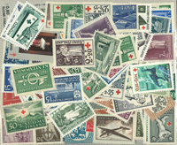 Finlande - 145 timbres neufs différents